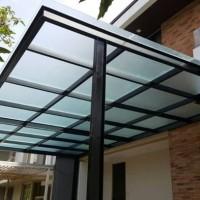 Kanopi Minimalis Atap Solarlite Polycarbonate | Harga Murah