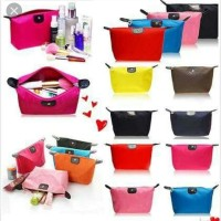 1/2 lusin tas cosmetic pouch longchamp
