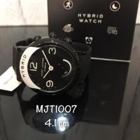 Jam marc jacob original / marc jacob hybrid smartwatch mjt1007 black