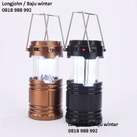 Lampu Led Tenaga Surya, Lentera Emergency, Camping, Hiking, Outdoor