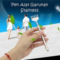 Garukan Stainless Alat Penggaruk Punggung / Scratching Itch Back