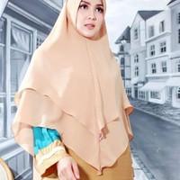 Nibras Hijab Rafflesia Khimar Antem