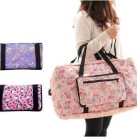 Tas Lipat Besar travel bag organizer Foladable Folding Hello Kitty