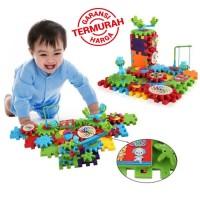 Mainan Edukasi - Funny Bricks / IQ Builder 81 PCS