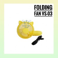 Folding Fan VS 03/ Kipas Angin/ Kipas Angin Karakter/ Kipas Gagang