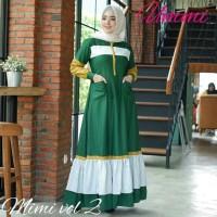 Harga baju gamis wanita terbaru mimi dress muslim maxi | antitipu.com