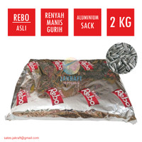 Kuaci REBO 2 Kg Kwaci Biji Bunga Matahari Original Kemasan Sack