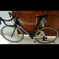 f88d3a024dd Fullbike Sepeda Bicycle Roadbike Sora FRC 85 Size 52 Hitam Free Ongkir