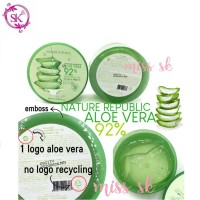 NEW PACKAGING - Nature Republic Aloe Vera Kemasan Embos