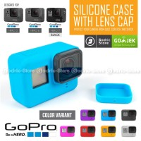 GoPro Hero 7 Black Silicone Case with Lens Cap Cover