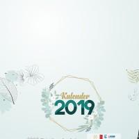 Template Kalender 2019 (lengkap hijriyah dan hari libur) Format CDR