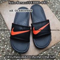 Sendal Nike Benasi ORIGINAL Sandal Benassi Hitam Sandal flip flop 01