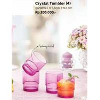 Harga crystal tumbler mug ungu | DEMO GRABTAG