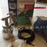 Mini Compressor set OPT+ Spray gun