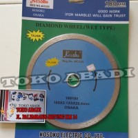 "mata potong Kramik / diamond wheel (wet type) 7""merk Kosuku"
