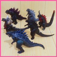 mainan figure Godzilla set monster ultraman pacific rim power ranger