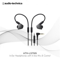 Audio-Technica ATH-LS70iS BK ( BLACK )