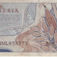 Uang Lama / Jadul 2/5 Rupiah Thn 1961