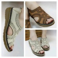Sepatu Sandal Wanita Berkualitas Kikers Flat Shoes Bm14