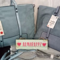 Harga best model terbaru promo diskon tas zara basic tote bag nude blue | Pembandingharga.com