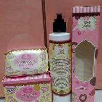 Jual PAKET PURE JELLY SOAP + BODY LOTION BPOM ORIGINAL Murah