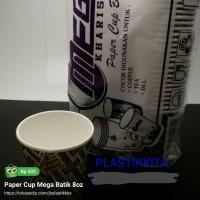 Paper Cup Mega Batik 8oz