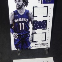 Kartu Basket 2017-18 Encased Triple jersey Mike Conley #TJ-MC