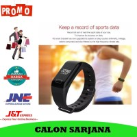 Smart Watch F1 SmartBand Smart Watch Xiaomi Mi Band Fitbit jam Hp