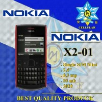 NOKIA X2-01 Single Sim HP Handphone Nokia X201 Qwerty 2010