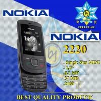 NOKIA 2220 Single Sim HP Handphone Nokia 2220 Slide 2009