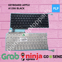 """Keyboard APPLE 15"""" A1286 2009-2012 Non Backlight BEST QUALITY"""