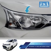 Harga garnish lampu depan all new avanza head lamp garnish | antitipu.com