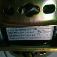 Dinamo pengering mesin cuci sanyo