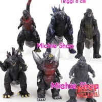 Hot - Figure Godzilla Monster / Pacific Rim set 6pcs 8cm