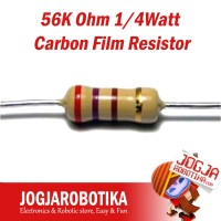 1W 56R 56Ohm 5/% *4 PC* NEW+ RESISTOR CARBON FILM