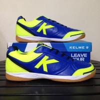 Harga sale sepatu futsal kelme k strong royal blue lime 55787 original | antitipu.com