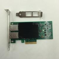 Lan Card Intel X550-T2 dual port 10GBit 10g PCI-e x4 network adapter