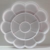 Joyko PLT-112 Palet Lukis Plastik Bentuk Bunga | Palette