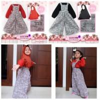 Jumpsuit Cutetrik size 8 10 12   Overall Kulot Anak   Baju Muslim Anak