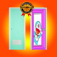 Stiker Pintu Kamar Mandi Doraemon