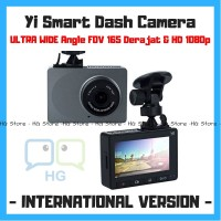 Xiaomi Yi DashCam Dashboard Camera 1080P 60fps International Car Mobil