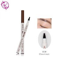 Chestnut 01 - Fine Sketch Liquid Eyebrow Music Flower Pen Waterproof