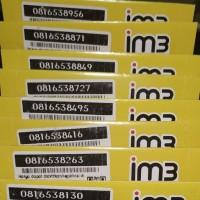 Nomor Cantik Triple IM3 M3 Indosat Oreedo Kartu Perdana Aksesoris HP