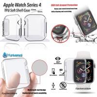 Apple Watch Series 4 TPU Soft Shell Case 40mm Screen Guard 360 Full
