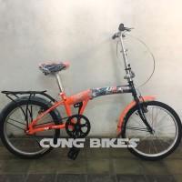 Sepeda Lipat Anak Dan Dewasa Odessy OD33 Ukuran 20