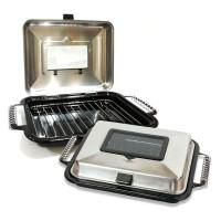 Maspion Crystal Oven 26cm Alat Panggangan Ayam Ikan Sosis Bakar