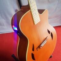 Jual Gitar Akustik Murah Elektrik Taylor Natural