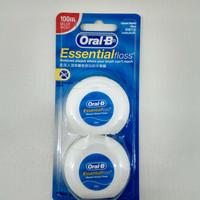 Oral B Dental Floss Benang Gigi isi 2