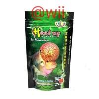 Okiko hijau Head Up Huncher makanan pakan ikan louhan 100gr