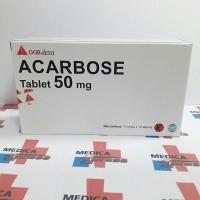 Acarbose 50 mg isi 100 tablet